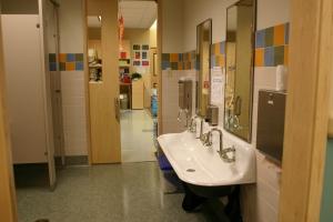BH UV Bathroom thru View